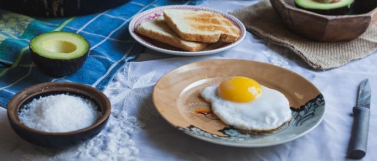 Duck Egg Breakfast