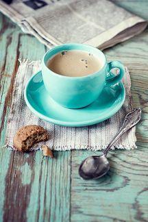 turquoise coffee